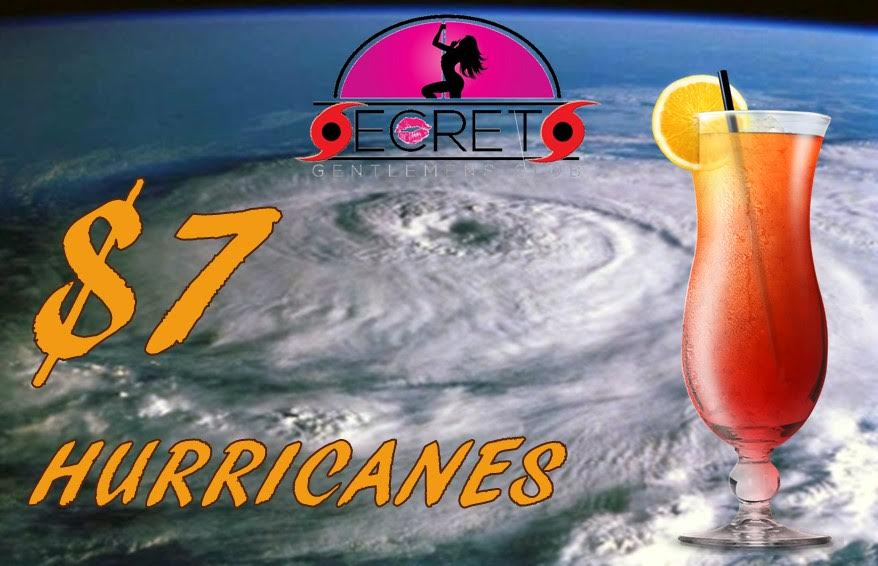Secrets Tampa Hurricane Party